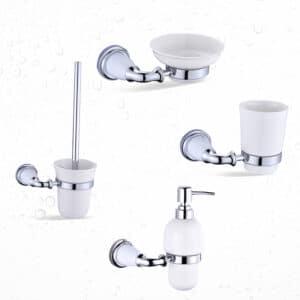 מוצרי אמבט סדרת אריסטו ניקל